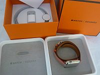 Hermes-Apple-Watch-Double-Tour-38mm-Red-Capucine-Limited-Editition-New-in-Box