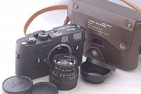 Rare Leica M4 KE-7A Military Camera #1294792 with 50mm f2.0 Elcan Lens and Case