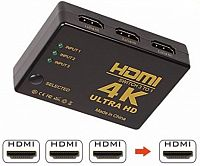 HDMI 4K swich 3 to 1 Ultra HD