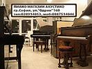 "Piano shop ""Acustico"" sells new and second-hand acoustic and digital pianos."